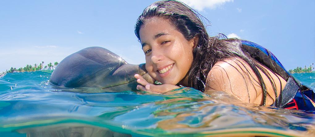 Image result for Royalton Bavaro Resort & Spa dolphin discovery swim